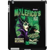 Malefico's - Wicked Flavor In Each Bite! iPad Case/Skin