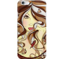 Serenity Fairy Portrait  iPhone Case/Skin
