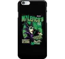 Malefico's - Wicked Flavor In Each Bite! iPhone Case/Skin