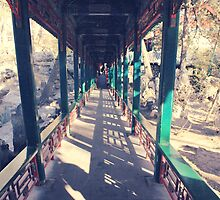 Long Corridor-The Prince Gong Mansion by deviloblivious