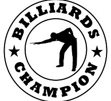 Billiards Champion by kwg2200