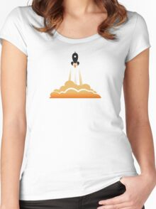 Blast Off Women's Fitted Scoop T-Shirt