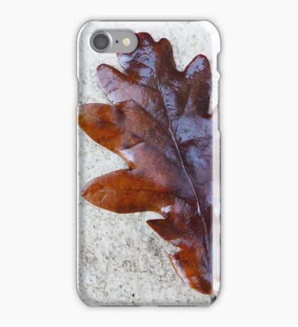 Oak Leaf iPhone Case/Skin