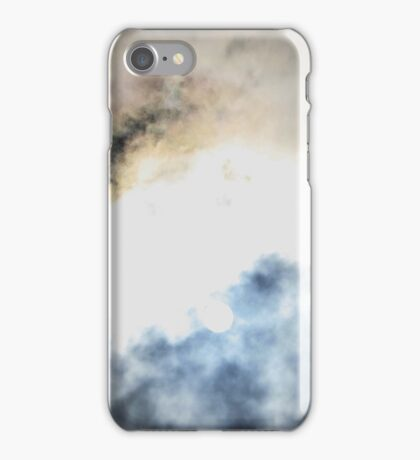 mystery clouds taken by camera  iPhone Case/Skin