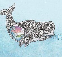 Beluga whale  by Boswaldo