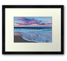 Sunset East Framed Print