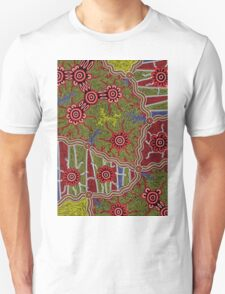 Authentic Aboriginal Arts - Connections Unisex T-Shirt