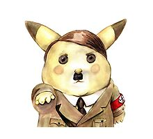 Adolf Pikachu by stathismori