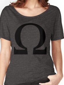 Omega Symbol  Women's Relaxed Fit T-Shirt