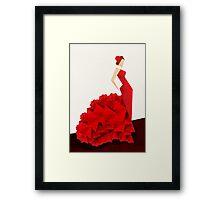 The Dancer (Flamenco) Framed Print