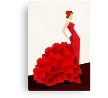 The Dancer (Flamenco) Canvas Print
