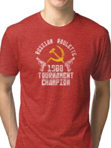 Russian Roulette Champion Tri-blend T-Shirt