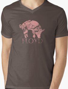 Pig Floyd Mens V-Neck T-Shirt