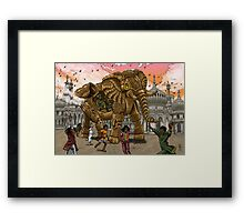 The Maharaja's New Toy Framed Print
