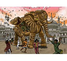 The Maharaja's New Toy Photographic Print