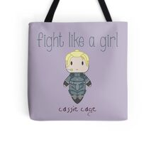 Fight Like a Girl - Daughter of Champions Tote Bag