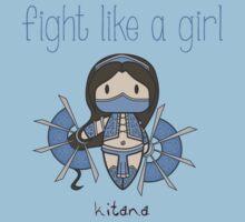 Fight Like a Girl - Princess Baby Tee