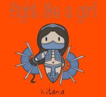 Fight Like a Girl - Princess Kids Tee