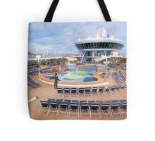 Everyone's overboard! Ted realizes 'There's a huge leek in the ship' was the wrong thing to say. Tote Bag