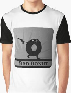 Bad Donut Game Collection Graphic T-Shirt