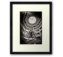 A Grand Entrance at the Grand Floridian Framed Print