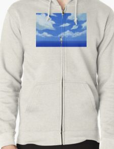 LOST IN A DREAM Zipped Hoodie