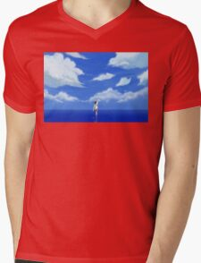 LOST IN A DREAM Mens V-Neck T-Shirt