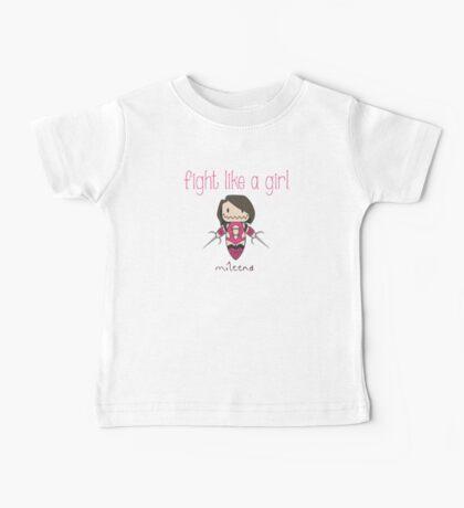 Fight Like a Girl - Clone Baby Tee