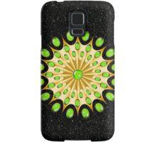 Mandala Gold and Emeralds Samsung Galaxy Case/Skin