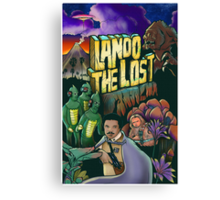 Lando The Lost Canvas Print