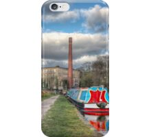 Canal and Narrow boat iPhone Case/Skin