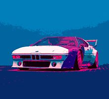 BMW large poster by youngmanwebsite