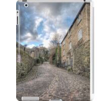 The cobbled lane iPad Case/Skin