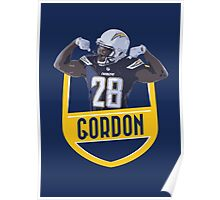 Melvin Gordon - San Diego Chargers Poster
