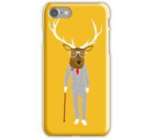 Gentleman stag iPhone Case/Skin