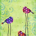 Nature's Harmony 2 - Hummingbird Art By Sharon Cummings by Sharon Cummings