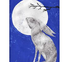 March Moon Gazing Hare by Loriloves