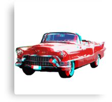 3D Cadillac Canvas Print