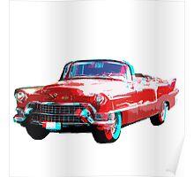 3D Cadillac Poster