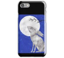 March Moon Gazing Hare iPhone Case/Skin