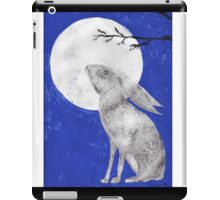 March Moon Gazing Hare iPad Case/Skin