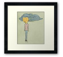 Cloud Head Framed Print