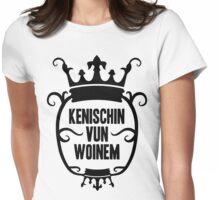 Kenischin vun Woinem (schwarz) Womens Fitted T-Shirt