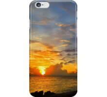 Serenity Prayer Sunset By Sharon Cummings iPhone Case/Skin