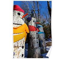 The Snowpeople of Rte 124 II Poster