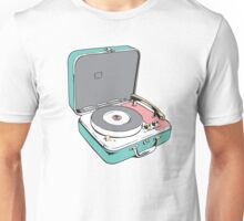 Retro Record Player Unisex T-Shirt
