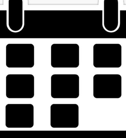 Calendar Symbol Sticker