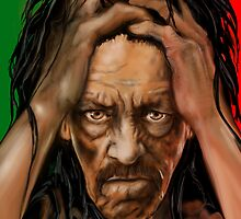 DANNY TREJO PORTRAIT by Ray Jackson