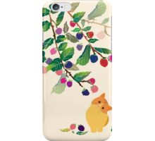 Berry and cats iPhone Case/Skin