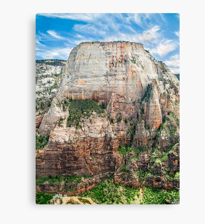 The Great White Throne of Zion Canvas Print